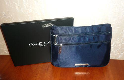 Косметичка Giorgio Armani в коробке 23,5*17